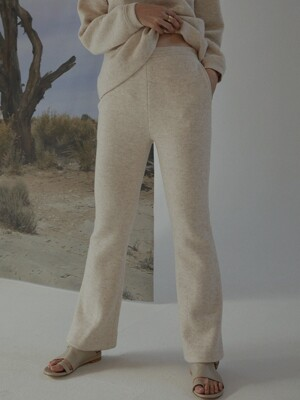 boots cut fleece trousers _ polar bear