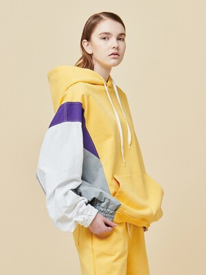 Coloration training hoodie_Yellow