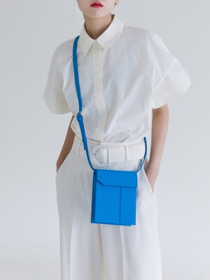 mini bag - azure blue