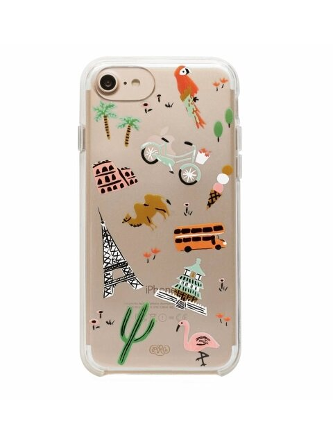 Clear Wanderlust iPhone Case