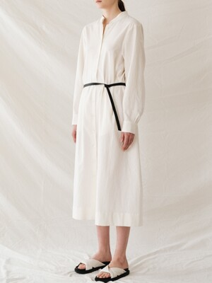 linen cotton onepiece (ivory)