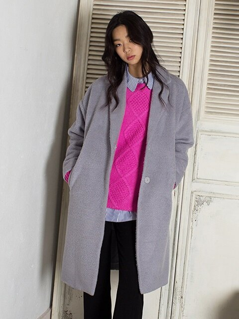 HIDDEN COAT (grey)