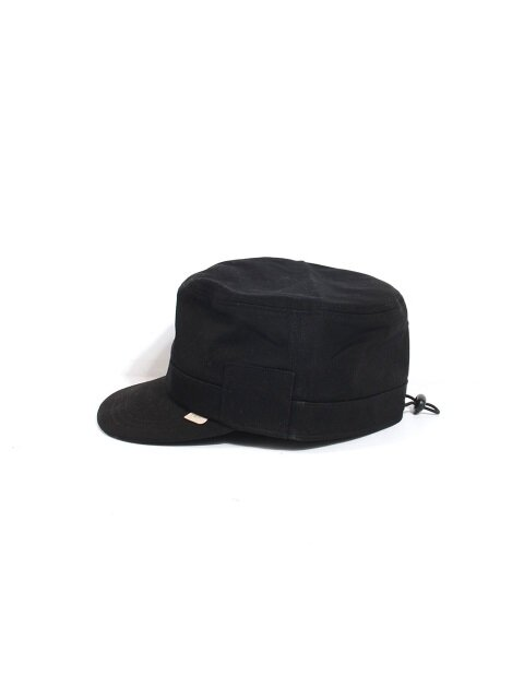 MILITARY WORK CAP - BLACK