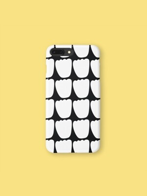 TULIP PARADE BLACK 3-Type Phone case