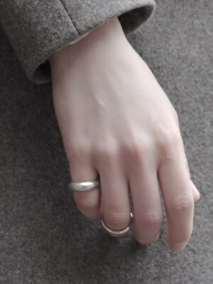 [Silver925] Hd_003 Stem cubic open ring