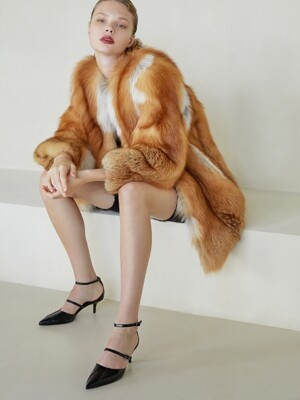 [주문제작] FOX FUR COAT