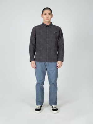 M FLANNEL PATTERN SHIRTS