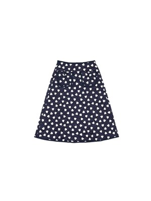 Lovers quilting skirt - Navy