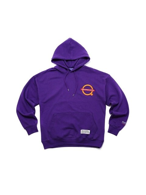 [UNISEX] SIGNAL OVER HOODIE_VIOLET