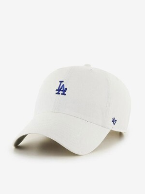 LA Small Logo Base Runner 47 CLEAN UP White