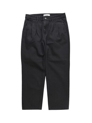 19SS STRAIGHT ANKLE FIT DENIM BLACK