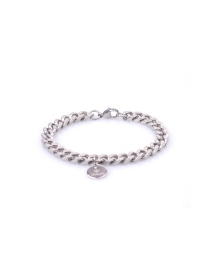 STAINLESS STEEL BRACELET MEDIUM CHAIN FOR MEN SSBMM09