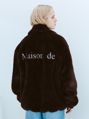 Reversible Maison de Fur Jacket [Brown]