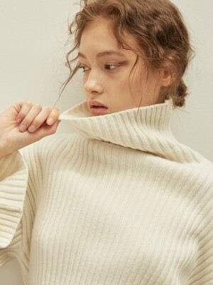 Joel Pullover Knit_ivory