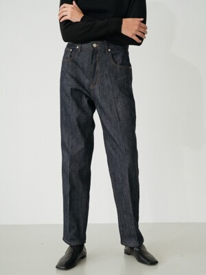 fleece lined nep jean (denim)