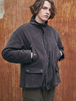 BOLT PITCH FIELD JACKET (DARK GRAY)