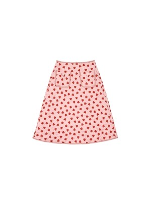 Lovers quilting skirt - Pink