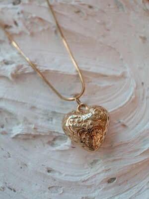 Glow Heart Necklace #1