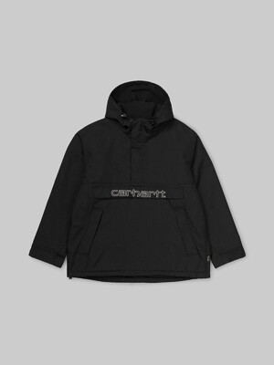 VISNER PULLOVER_BLACK/WAX
