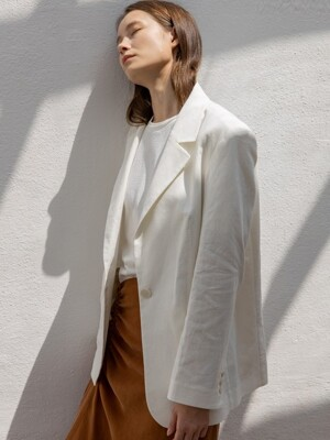Single Linen Cotton Jacket