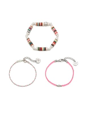 [SET]Tropical n Candy Bracelet