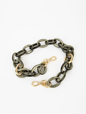 Plastic chain strap (Black)