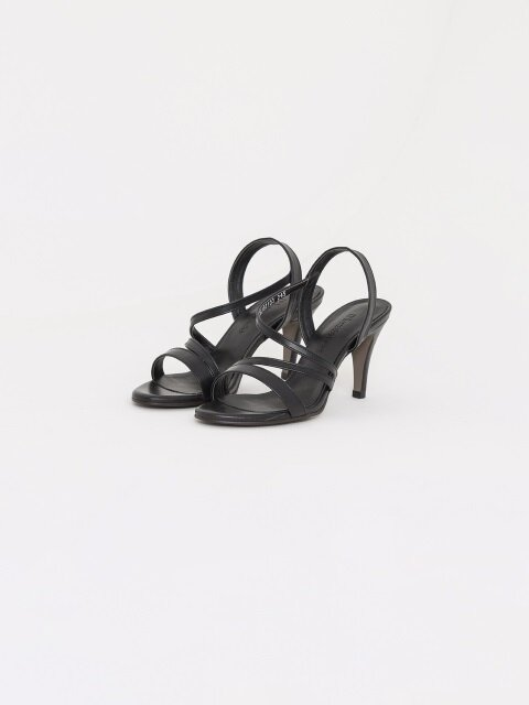 70mm Basic Strap Sandal (Black)