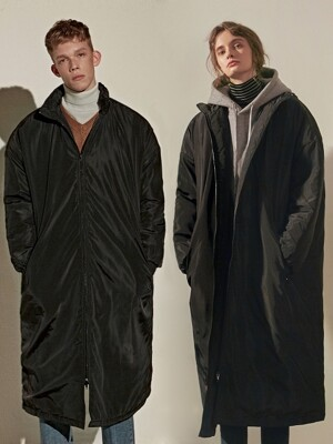 NORMAL LONG PADDING PARKA_BLACK
