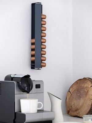 COFFEE RACK WALL