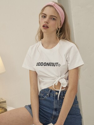 TIE CROP T-SHIRT_WHITE