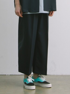 CONCIERGE WIDE SET-UP TR PANTS TYPE 2 (NAVY)