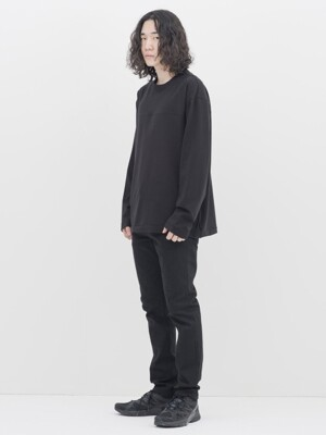 Reversible L/S T-Shirt (Black)