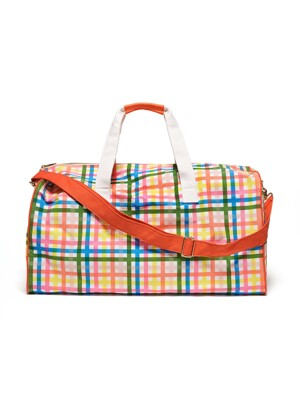 GETAWAY DUFFLE BAG - BLOCK PARTY