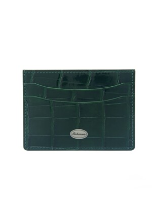 crocodile card slot Deep green