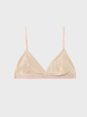 CLASSIC SOLID BRA - SAND
