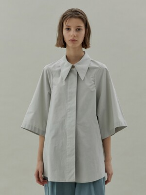 20SS ARMHOLE STITCH SHIRTS - MINT