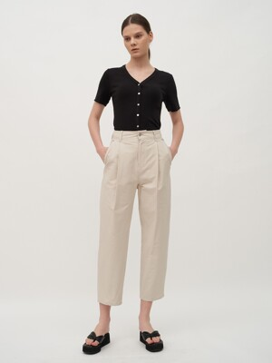TTR COTTON CHINO TROUSER 2COLOR