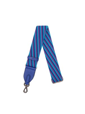 Shoulder Webbing Strap Controller(38mm) Stripe _ Deep blue