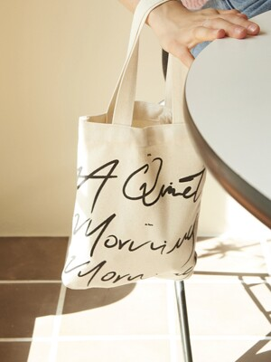 A QUIET MORNING BAG_Ivory