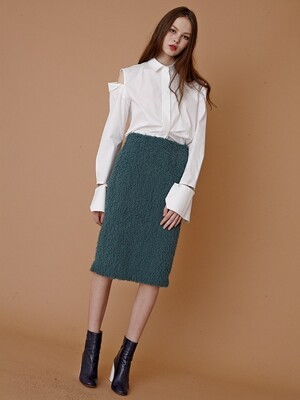 16FW MIDI SKIRT (MINT)