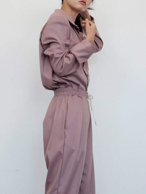 Lounging Pants - Dusty Pink (남녀공용)