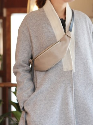 Vono Waist Bag_S_Light Gray [YB209_LGY]