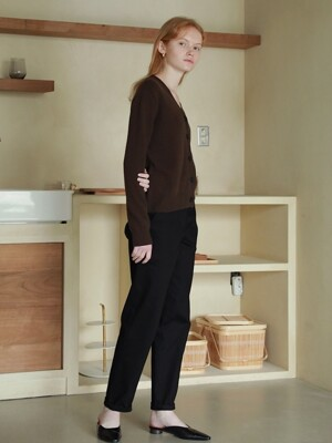 Sage Cotton Pants in Black