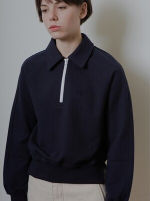 HALF ZIP-UP MTM_NAVY