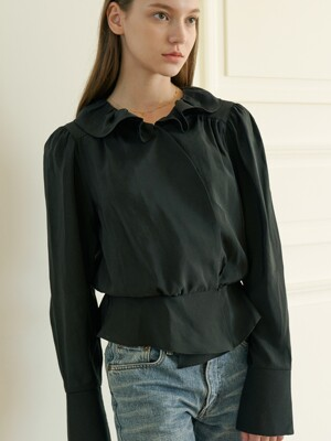 stell blouse black