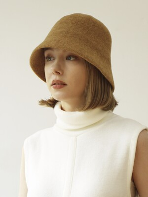 jane wool cloche hat (4color)