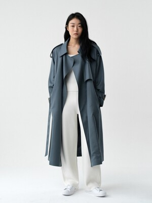 WOOL TRENCH COAT (2 COLOR)