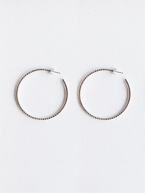 2016SS Cubic round earring