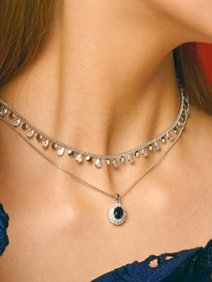 Angel's Tears Choker Necklace