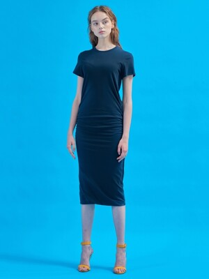 Everyday perfect dress [Ash navy]